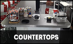 Retro Countertops, Retro Counters, Bar Counters