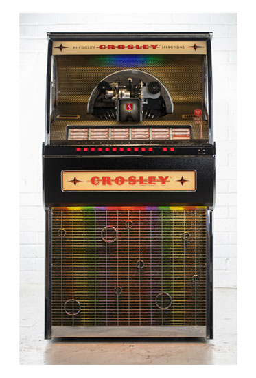 Retro Jukeboxes | Vintage Jukeboxes | 1950 Harley Davidson