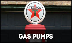 Retro Gas Pumps, Vintage Gas Pumps, Double Gas Pumps